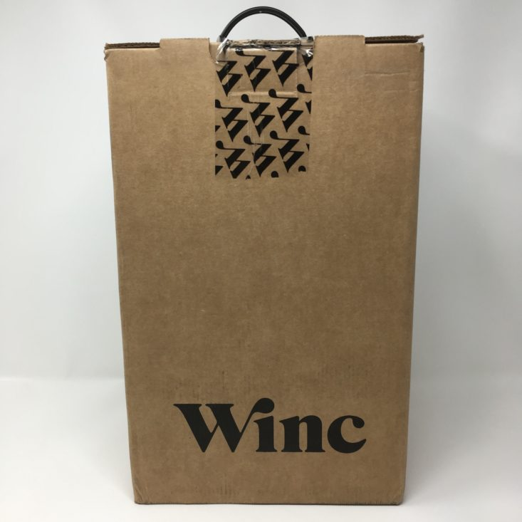 Winc Wine of the Month Review December 2018 - UNOPENED BOX Front