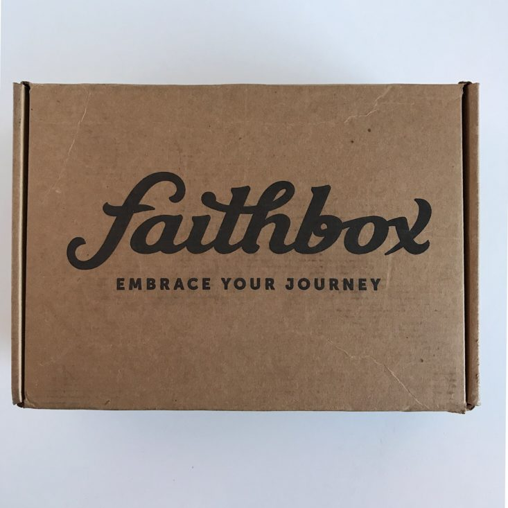 FaithBox January 2019 - Box Review Top
