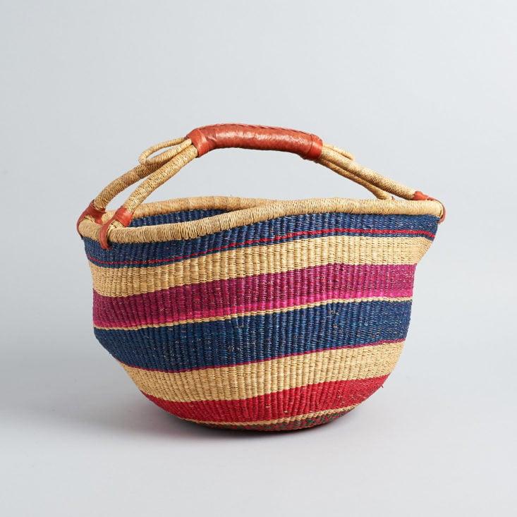 GlobeIn African basket
