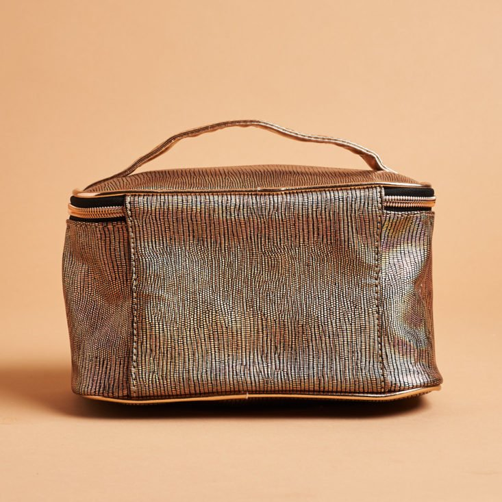 Boxy Luxe March 2019 makeup bag back