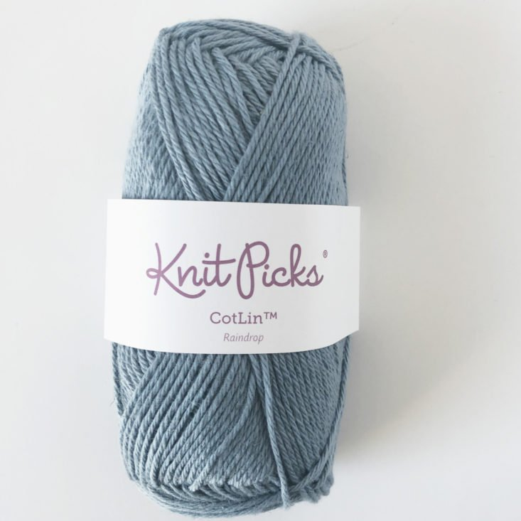 Knit Picks Yarn Subscription Box February 2019 Review - Yarn Front Top