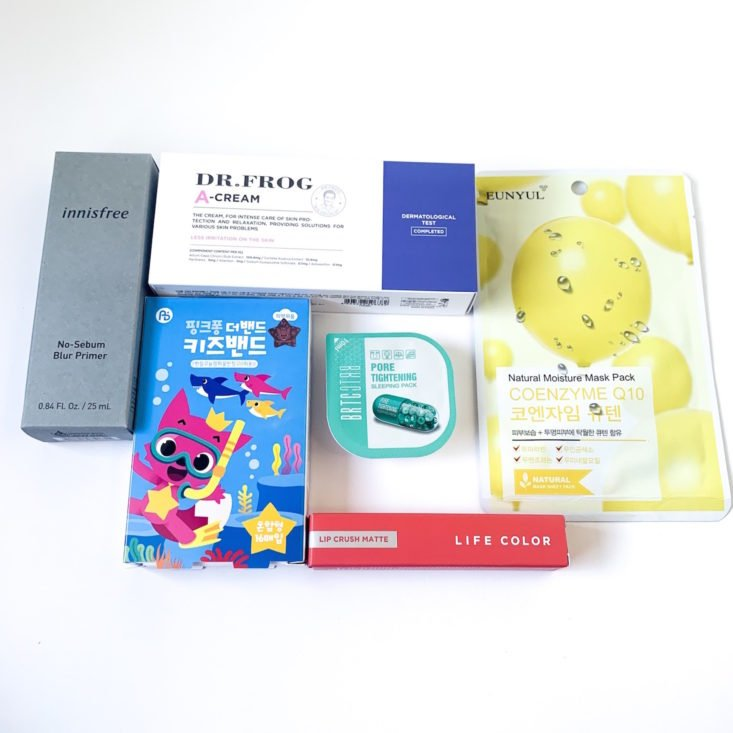KoKo Style Box March 2019 - All Contents Front