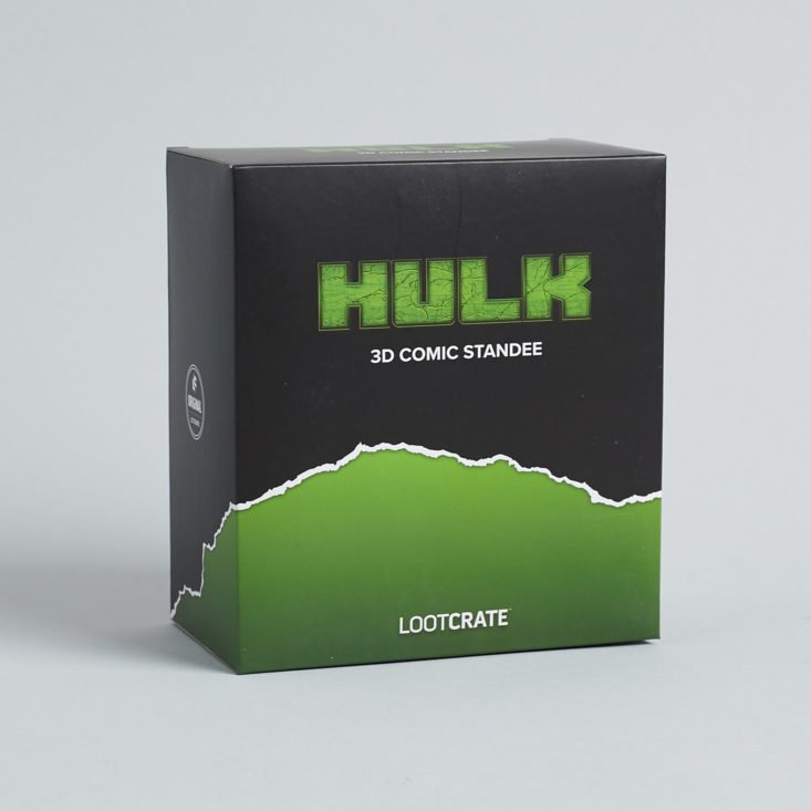 Loot Crate Transformation hulk figure box