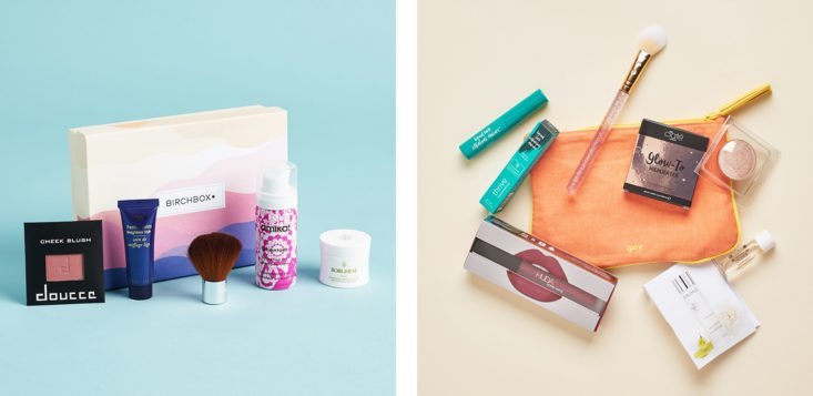 birchbox vs. ipsy makeup and beauty subscription boxes comparison