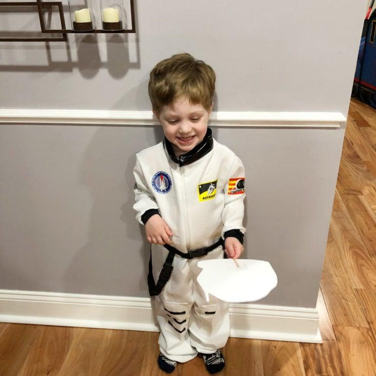17 Little Bookish Wardrobe April 2019 - Astronaut Dress Up Costume