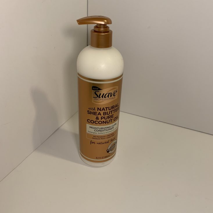 Cocotique March 2019 Review - Conditioner 1 Front