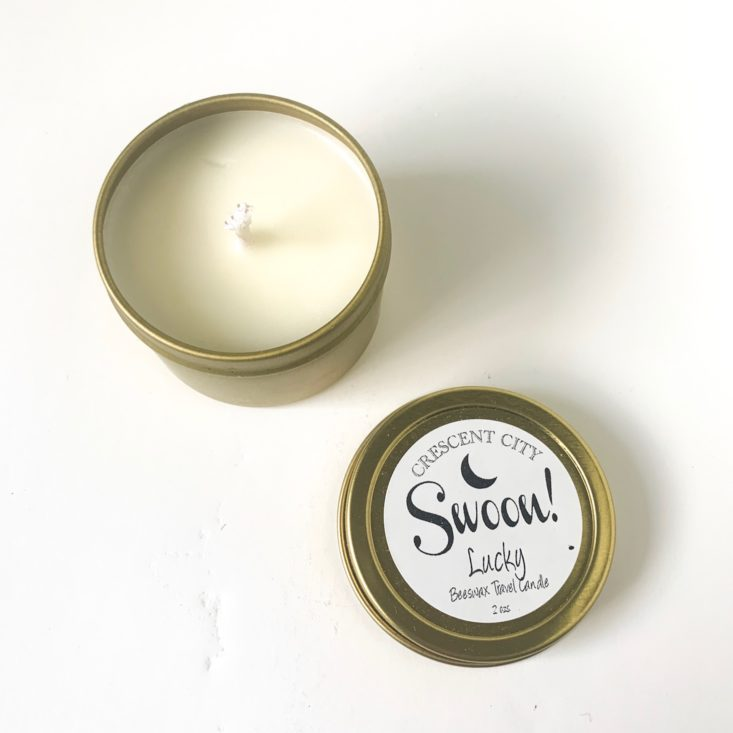"Crescent City Swoon ""Lucky"" March 2019 - Candle"