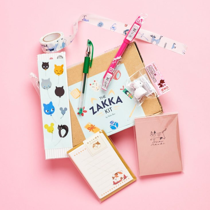 The Zakka Kit May 2019 review all contents
