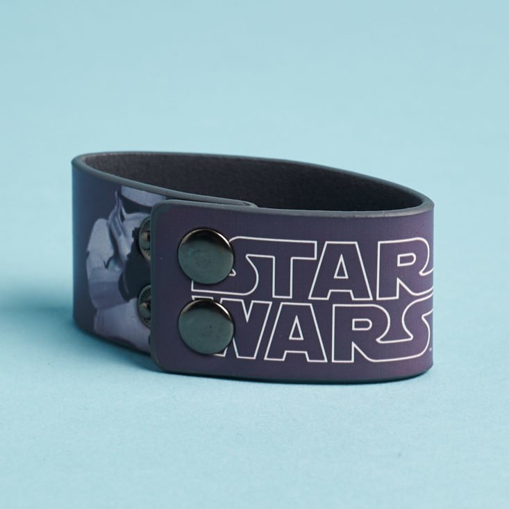 ZBox March 2019 star wars snap bracelet