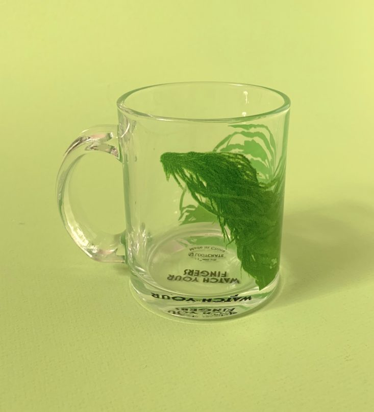 J.K. Rowling's Wizarding World Crate March 2019 - Kelpie Tempered Glass Mug Side View 2