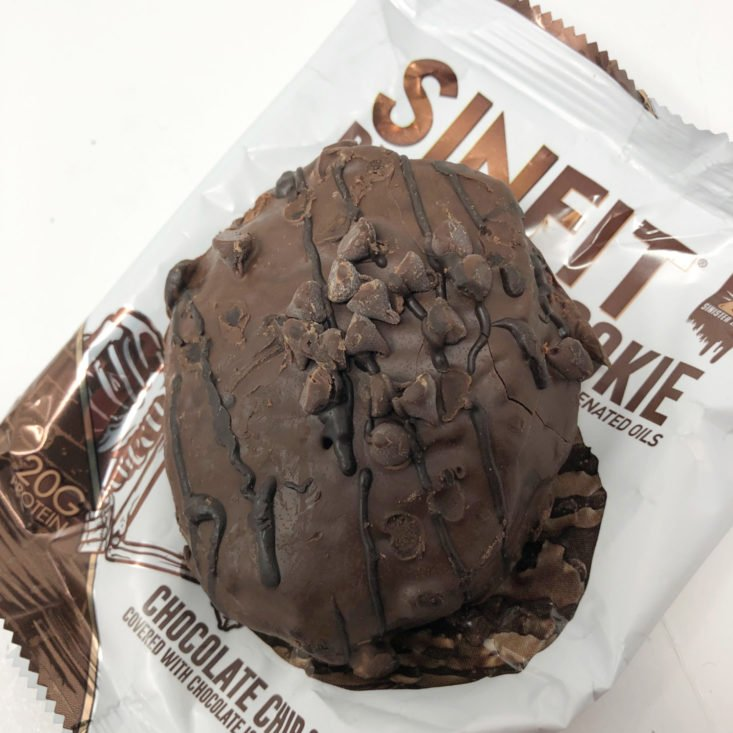 BuffBoxx May 2019 - Sinfit Chocolate Chip Protein Cookie 3