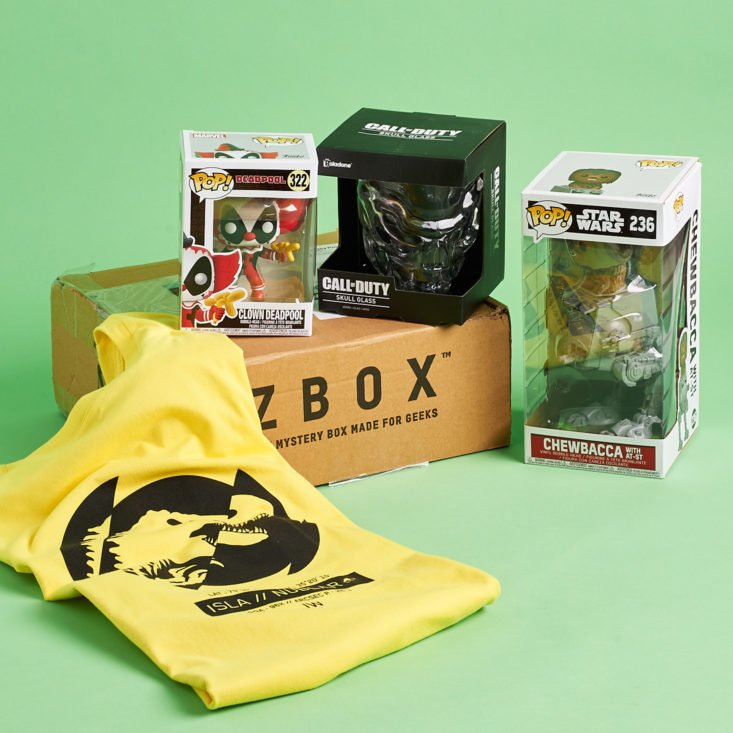 Zbox May 2019 all contents