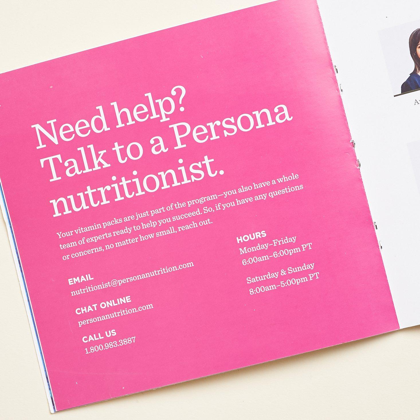 Description of nutritionists help