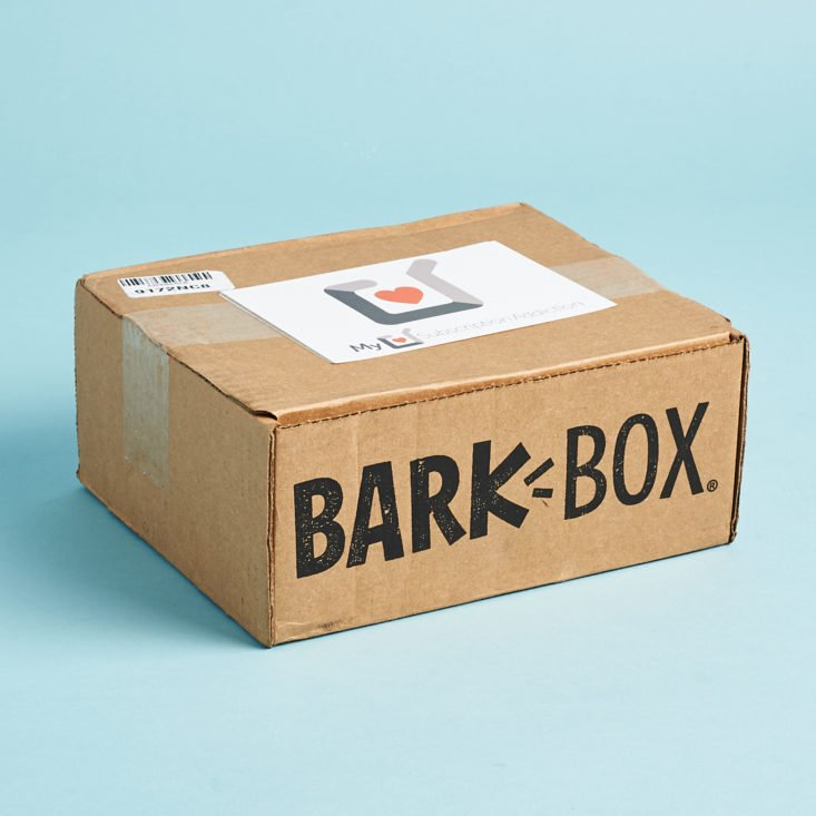 barkbox june 2019 subscription box for dogs review