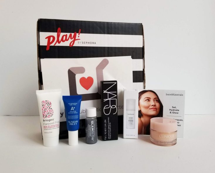Sephora Play Box 871 August 2019 all items
