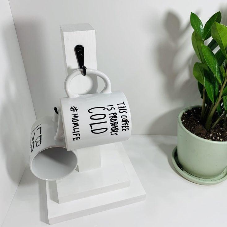 Adults & Crafts Mug Stand and Mugs Kit 2019 - Final Product 1 Front