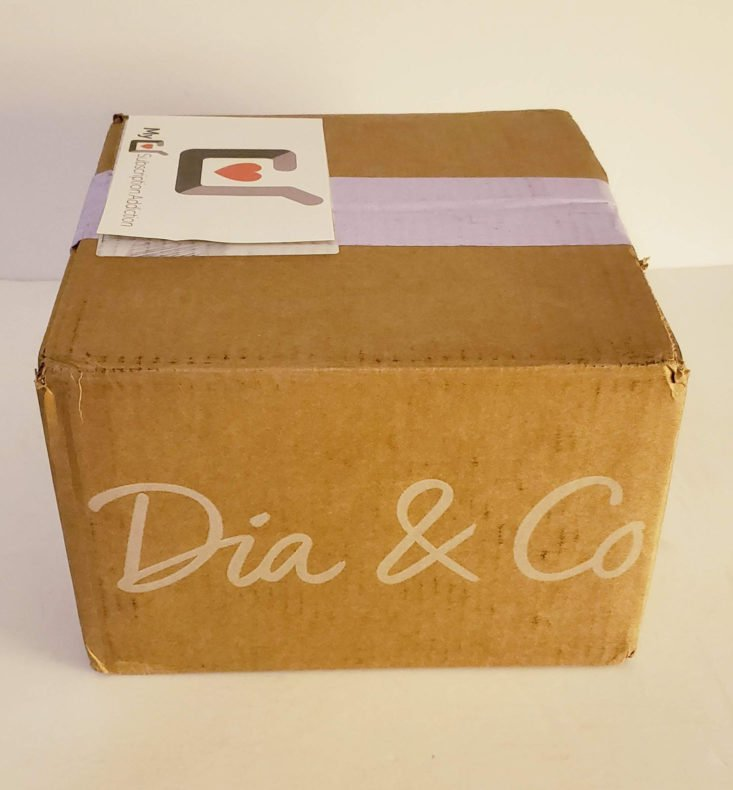 Dia and Co August 2019 Box - Box