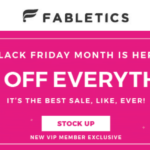 Fabletics Black Friday Sale – 70% Off First Purchase!